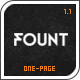 Fount - One & Multipage Hybrid Wordpress Theme - ThemeForest Item for Sale
