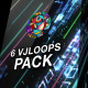 Futuristic Space VJ Pack - VideoHive Item for Sale