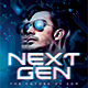 Next Generation DJ Party Flyer - GraphicRiver Item for Sale