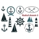 Set of Nautical Elements - GraphicRiver Item for Sale