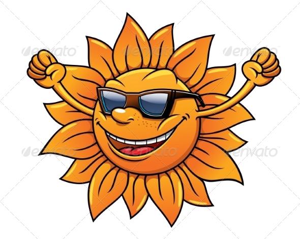 GraphicRiver Tropical sun in sunglasses 8432046