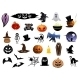 Set of Halloween icons - GraphicRiver Item for Sale