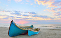 Fishing boats and sunrise - PhotoDune Item for Sale