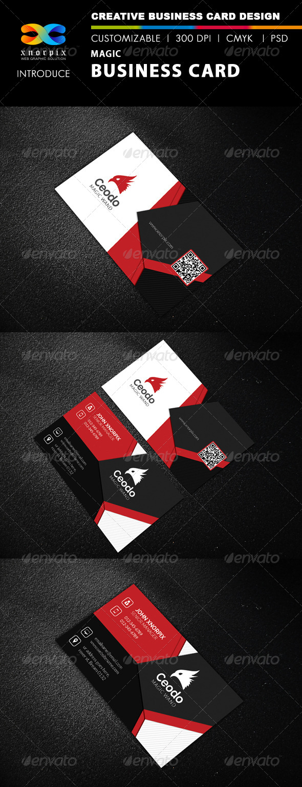 GraphicRiver Magic Business Card 8432665