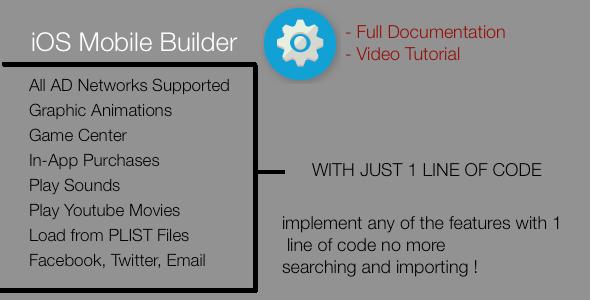 CodeCanyon Mobile Builder iOS 8432703