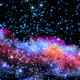 Blue and magenta nebula - PhotoDune Item for Sale