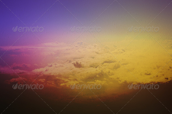 Clouds - Above the Heaven - Stock Photo - Images