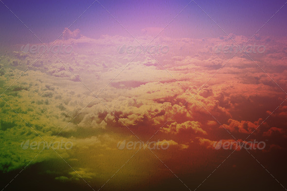 Above the Clouds - Stock Photo - Images