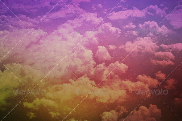 Above The Clouds Background - Stock Photo - Images