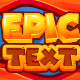 Epic Text Graphic style  - GraphicRiver Item for Sale