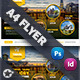 Travel Tours Flyer Templates - GraphicRiver Item for Sale