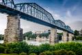 Coolidge Park and Walnut Street Bridge - PhotoDune Item for Sale