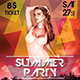 Summer Party Flyer Poster Template - GraphicRiver Item for Sale