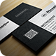 Elegant Black And White Business Card - GraphicRiver Item for Sale