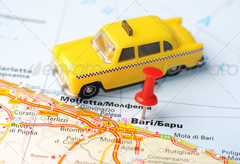 bari italy map taxi - PhotoDune Item for Sale