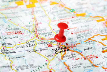 siena italy map - PhotoDune Item for Sale