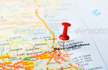 ravenna italy map - PhotoDune Item for Sale