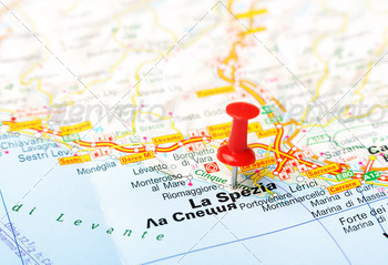 La Spezia Italia map - PhotoDune Item for Sale