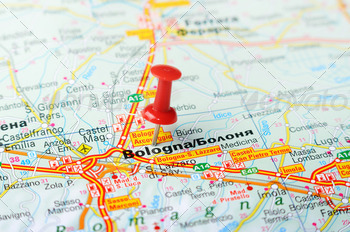 bologna italy map - PhotoDune Item for Sale