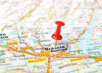 brescia italy map - PhotoDune Item for Sale