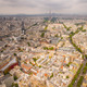 Buildings of Paris and Eiffel Tower aerial view - PhotoDune Item for Sale