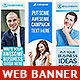 Corporate Web Banner Set Bundle 12 - GraphicRiver Item for Sale