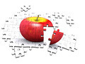 3d Apple jigsaw puzzle - PhotoDune Item for Sale