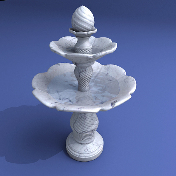 3DOcean Fountain Model B 8434074