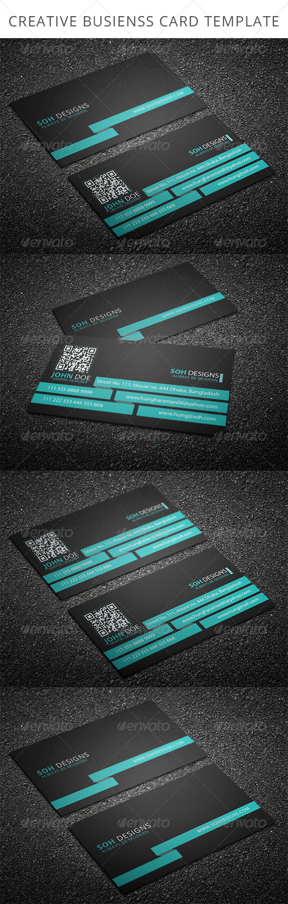 Corporate Business Card Template 3