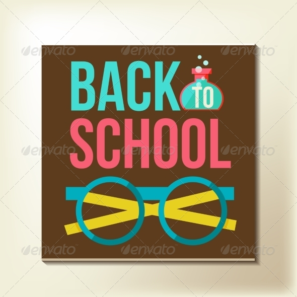 GraphicRiver Back to School Design Template 8434118