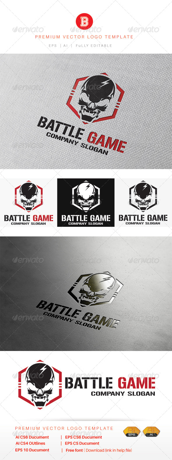 GraphicRiver Battle Game 8434153