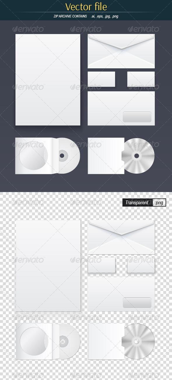 GraphicRiver Office Supply Set 8434235