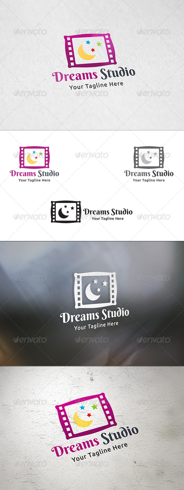 GraphicRiver Dreams Studio Logo Template 8434487