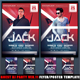 Guest DJ Party Ver.11 Flyer/Poster Template  - GraphicRiver Item for Sale