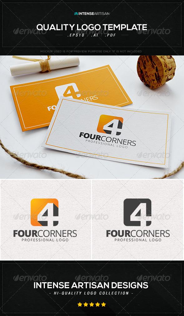 GraphicRiver Four Corners Logo Template 8434508