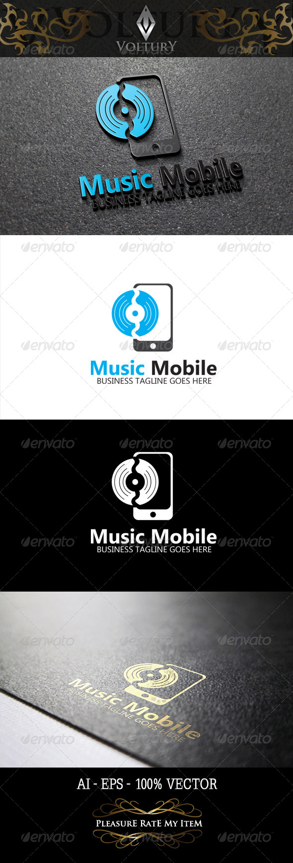 Music Mobile Logo