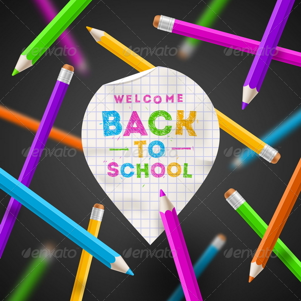 GraphicRiver Back to School Illustration 8434538