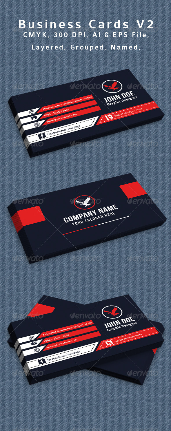 GraphicRiver Creative Business Card V2 8434682