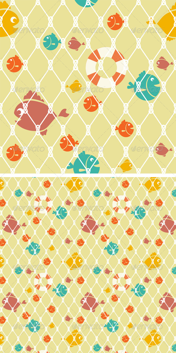 GraphicRiver Marine Seamless Pattern 8423028