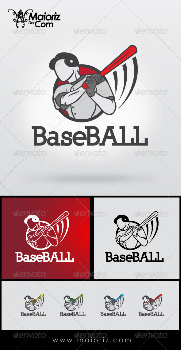 GraphicRiver Baseball Logo Template 8434697