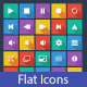 Media Player Flat Icons - GraphicRiver Item for Sale