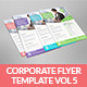 Corporate Flyer Template Vol 5 - GraphicRiver Item for Sale