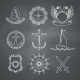 Nautical Design Elements - GraphicRiver Item for Sale