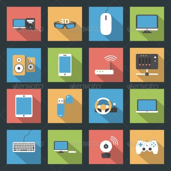 GraphicRiver Computers Peripherals and Network Devices 8435919