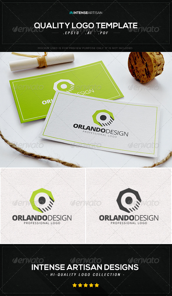 GraphicRiver Orlando Design Logo Template 8435952