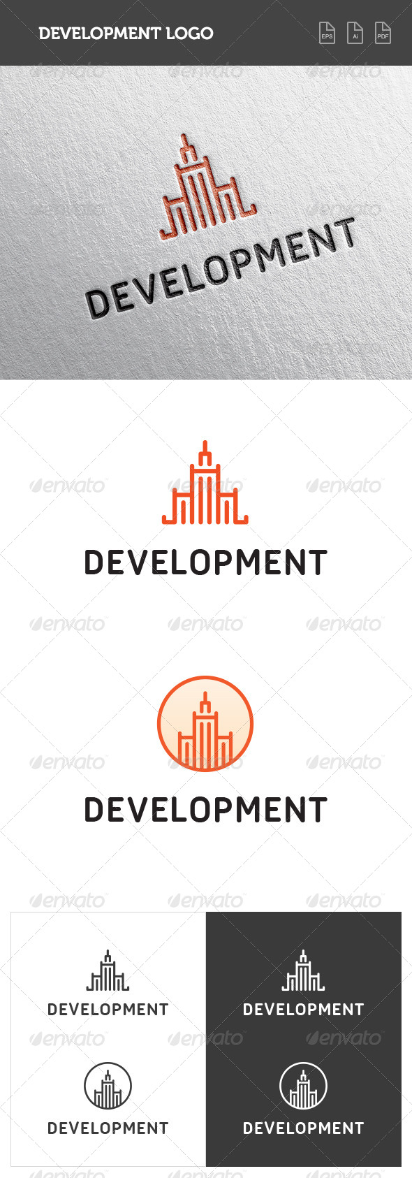GraphicRiver Development Logo 8435973