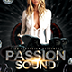Passion Sounds Party Flyer Template - GraphicRiver Item for Sale