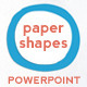 Paper Shapes Powerpoint Presentation Templates - GraphicRiver Item for Sale
