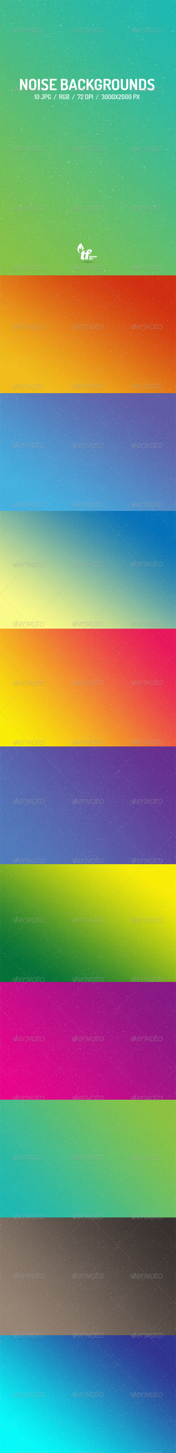 GraphicRiver 10 Noise Backgrounds 8436013