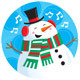 Singing Snowman - GraphicRiver Item for Sale